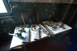 На территории форта №4 в Калининграде обнаружили снаряды и мины времён войны
