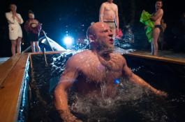 «Снежно и тепло»: как в Калининграде прошли крещенские купания