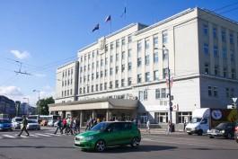 Власти выделили 5 млн рублей на обновление территории вокруг мэрии Калининграда