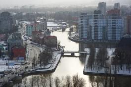 В выходные в Калининградской области ожидается потепление до +2°С