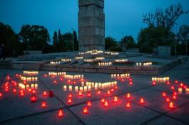«Печальная дата»: в Калининграде прошла акция «Свеча памяти»