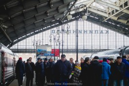 С 29 сентября поезда Калининград — Санкт-Петербург будут ходить реже