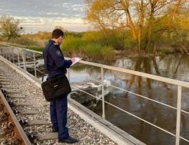 Под Калининградом разыскивают 11-летнего мальчика, упавшего в реку с железнодорожного моста