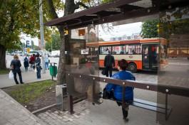 В Калининграде изменили схему движения семи маршрутов общественного транспорта