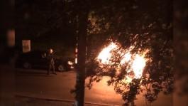 Ночью в Калининграде горели «Фольксваген» и «Киа»