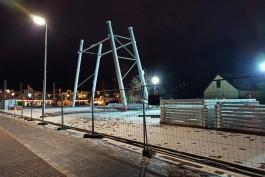 Инвестор планирует в феврале достроить колесо обозрения в Зеленоградске