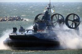 В параде на День ВМФ в Балтийске пройдёт самый большой в мире десантный корабль на воздушной подушке