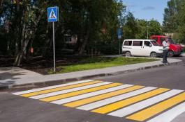 В Калининграде автомобилист повредил БМВ водителя, высадившего пассажира на «зебре»