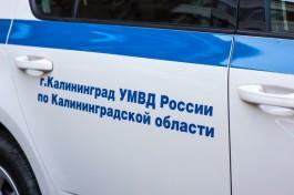 В Калининграде полицейские устанавливают личности подозреваемых в краже
