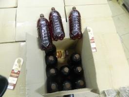 В Калининградскую область пытались ввезти 18 тонн алкоголя под видом моющего средства