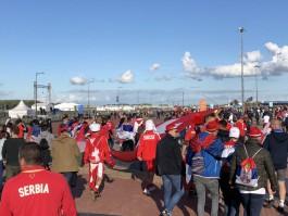 «Сербия и Швейцария на Острове»: околофутбольная трансляция Калининград.Ru