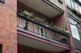 Жительница Калининграда бросила бутылку с зажигательной смесью на балкон квартиры бывшего мужа