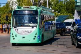 В Калининграде восстановили движение троллейбусов по Московскому проспекту