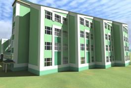 Власти Калининграда хотят поменять цветовую гамму строящейся школы на Артиллерийской