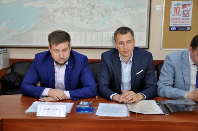 Мишин подал документы в избирком для регистрации кандидатом на выборы губернатора