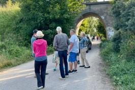 «Остановили бульдозер»: жители Филино пытаются спасти от сноса 137-летний мост