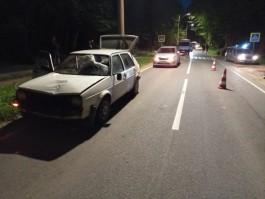 В Светлогорске «Фольксваген» сбил мужчину и 13-летнюю девочку на переходе