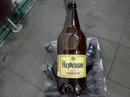 В Калининградскую область не пустили 2,6 тонны пива из Смоленска