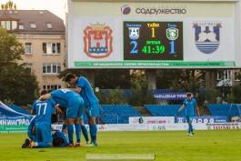 «Переломный момент»: как «Балтика» переиграла «Томь» в Калининграде