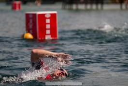 «Шестнадцатилетний фаворит»: в Янтарном прошли открытые соревнования по плаванию на открытой воде