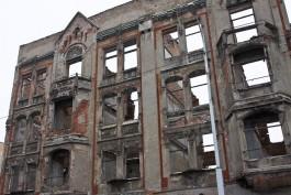 Сухомлин: Строительство Кройц-аптеки в Калининграде идёт с опережением на полгода