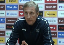 Тренер «Балтики»: «Торпедо» в Москве нас перекусало