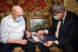 В Калининграде отметили 95-летие ветерана Бориса Пирожкова