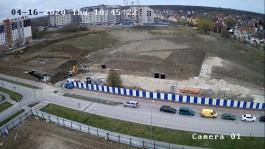 Мэрия запустила онлайн-трансляцию строительства школы на улице Рассветной в Калининграде