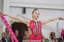 «Жемчужное ожерелье»: в Зеленоградске прошли соревнования по художественной гимнастике