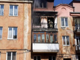 Следственный комитет проводит проверку по факту гибели мальчика во время пожара в Калининграде