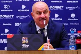 Матч «Балтики» в Москве посетил главный тренер сборной России Станислав Черчесов