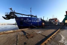В морском порту Калининграда проведут дноуглубление с помощью судна «Юрий Маслюков»