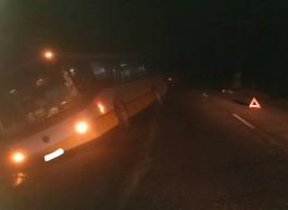 В Славском округе автобус насмерть сбил 56-летнего мужчину