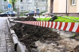 Власти Калининграда планируют сократить сроки ремонта тротуаров