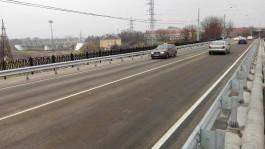 Мост на улице Суворова в Калининграде открыли для движения транспорта
