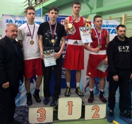 Калининградские боксёры выиграли первенство федерального округа