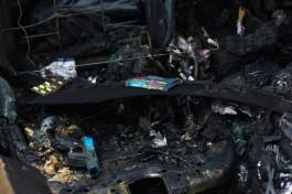 Ночью в Калининграде сгорели «Ауди А6» и «Ниссан Премьера»