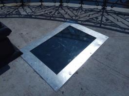 На Деревянном мосту в Калининграде установили новое смотровое стекло