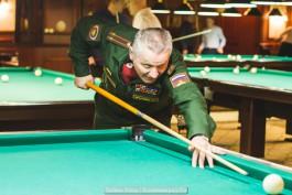«Офицерский дуплет»: в Калининграде прошёл турнир по бильярду среди силовиков