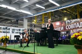 «Это уже любовь»: как участники фестиваля «Орган+» выступили на заводе «Автотор»