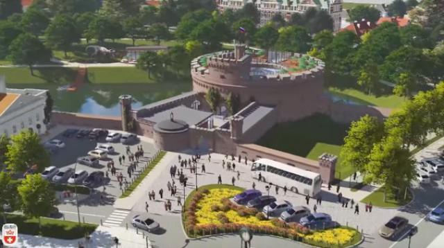Власти планируют благоустроить микрорайон вокруг башни Врангеля в Калининграде