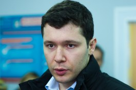 Алиханов не планирует использовать Росгвардию для своей охраны