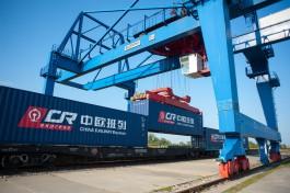 На контейнерном поезде Китай — Европа впервые доставили груз для калининградского предприятия