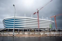 Минстрой РФ: Нужно увеличить число рабочих на стройке стадиона в Калининграде, чтобы успеть в срок