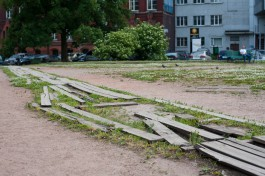 «Амфитеатр против гнилых досок»: как хотят благоустроить сквер возле КМРК в Калининграде