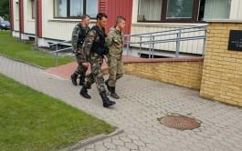 В Литве освободили пограничника, приплывшего из Калининградской области