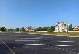 На въезде в Зеленоградск обустроили бесплатную стоянку для автобусов