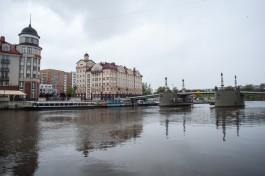 Ночью в Калининграде разведут Юбилейный и Высокий мосты
