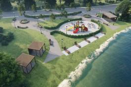 На берегу озера в Железнодорожном планируют обустроить пляж и променад
