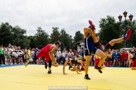 «Спортивно и торжественно»: в калининградском парке отметили День физкультурника